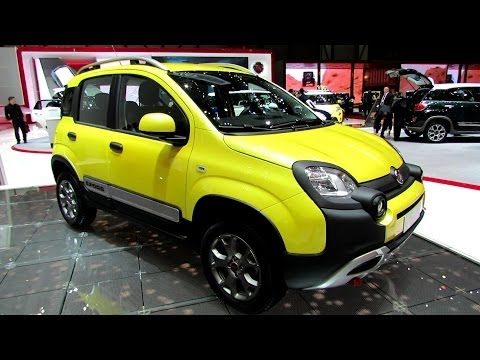 2015 Fiat Panda Cross - Exterior and Interior Walkaround - Debut at 2014 Geneva Motor Show