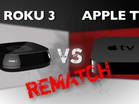 Roku 3 vs. Apple TV (3rd Gen) - Rematch
