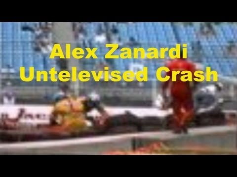 Indy Car Crash, Untelevised Alex Zanardi qualifying crash