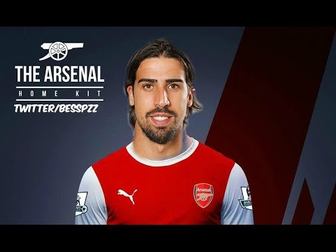 SAMI KHEDIRA-Welcome to ARSENAL-Goal & Skills- 2014 |HD|