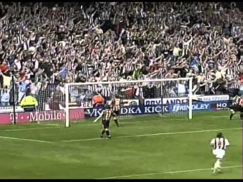 West Bromwich Albion complete a Football League Championship double over Hull - 2006/07