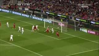Portugal Vs Russia WC 2014 Qualification Europe