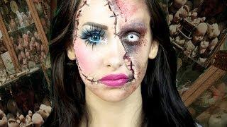 Horror Doll A Scary Halloween Makeup Tutorial (LaCindina