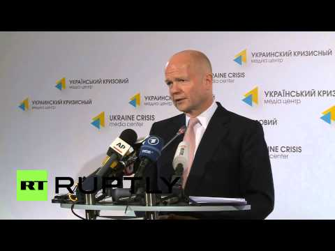 Ukraine: Hague accuses Russia of having troops in east Ukraine