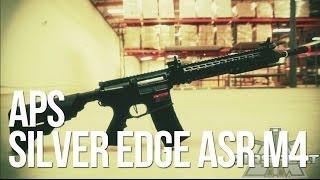 APS Silver Edge Airsoft M4 ASR 114 & 115 AEG Rifle