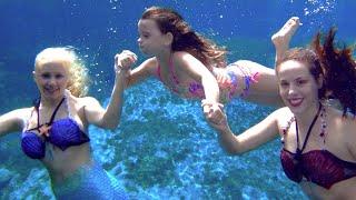 Real Mermaid Melissa Birthday Pool Party!
