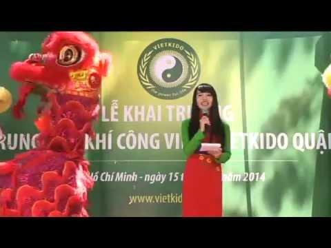 Lễ Khai Trương Trung Tâm Khí Công VIETKIDO Quận 7
