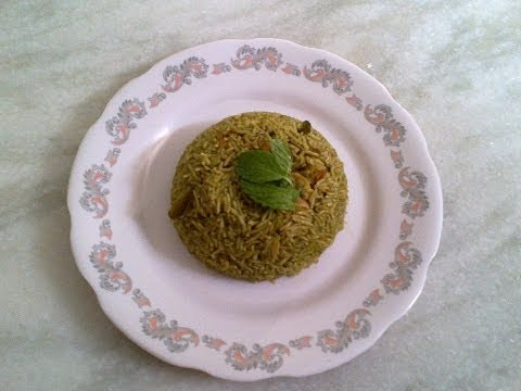 Corriander Mint Rice