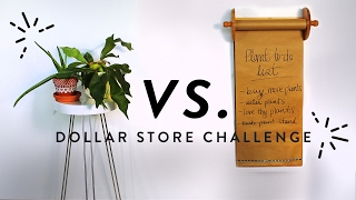 DOLLAR STORE CHALLENGE (loft edition!!) | THE SORRY GIRLS