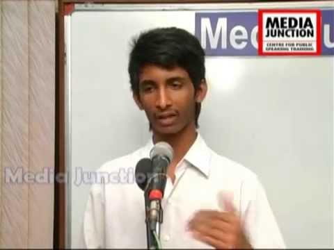 K Praveen, Workshop Participant, Media junction,Hyderabad.