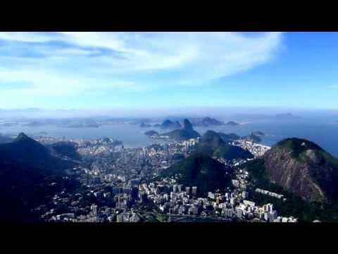 Rio de Janeiro Helicopter Flight from Sugar Loaf along Copacabana to Corcovado