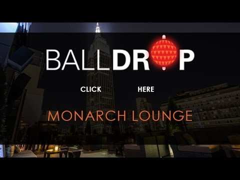 BallDrop.com Presents New Years Eve at Monarch Rooftop Lounge Times Square - 212-201-0735