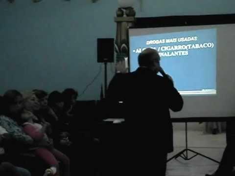 Palestra de Prevenção as Drogas com Milton Mussini