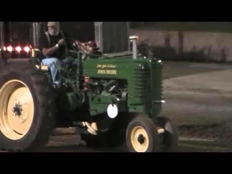 Dayton Fair Antique Tractor Pull 6000 Stock & Open