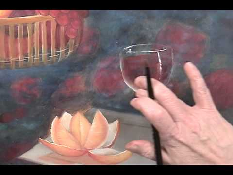 dutch old master how to paint a wine glass youtube