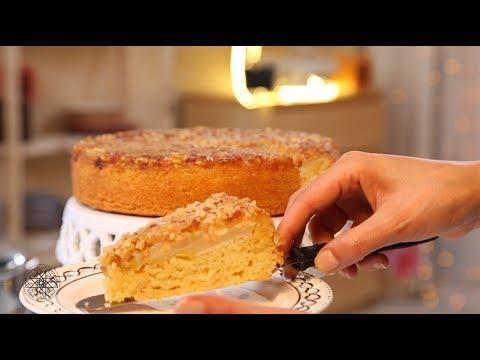 Choumicha : Gâteau renversé aux poires (VF)