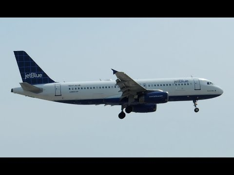 JetBlue Airways Airbus A320-232 [N547JB] landing in LAX
