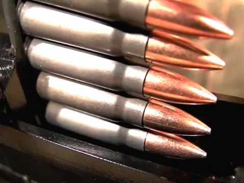 slow motion bullet impacts and vz.58 rifle