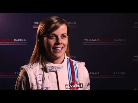 Williams Martini Racing - Susie Wolff
