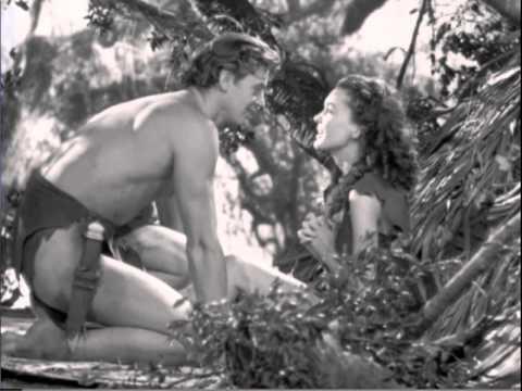 Tarzan Escapes (1936) - 2-Tarzan and Jane Waking in the Treehouse