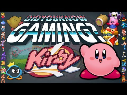 Kirby - Did You Know Gaming? Feat. Egoraptor, http://didyouknowgaming.com - http://vgfacts.com Check out lots more trivia at our website, you can also follow us at the links below. Like us on Facebook: h...