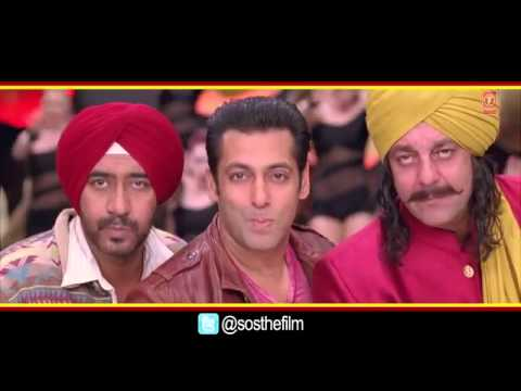 Son Of Sardaar Po Po Full Video Song  Salman Khan, Ajay Devgn _ Sanjay Dutt
