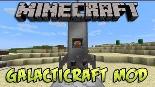 Como Ir Al Espacio En Minecraft Galacticraft Mod 1.7.2