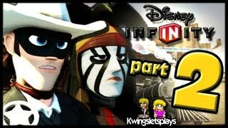 Disney Infinity Wii U Walkthrough Lone Ranger Part 2