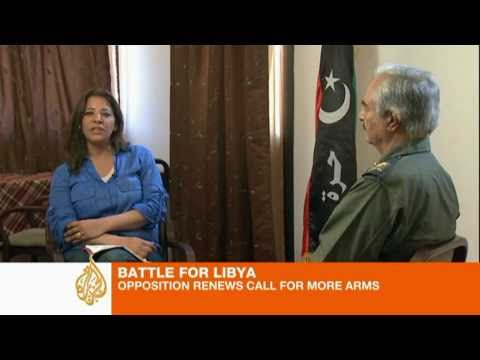 Top rebel leader sits down with Al Jazeera