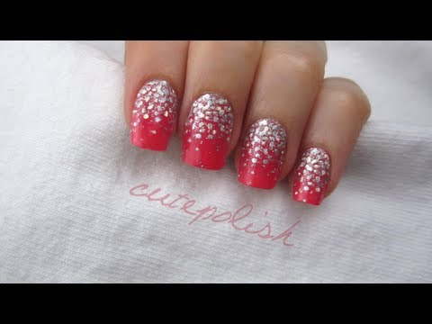 Perfect Prom Nails, Please excuse my voice as I am getting over a cold. This video will show you how to achieve a dazzling manicure in no time on the day of your Prom! I also sh...