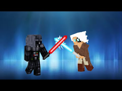 STAR WARS in Vanilla Minecraft | ONLY ONE COMMAND BLOCK (1.9)