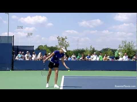 Maria Sharapova Serve Practice in HD