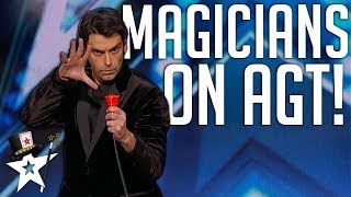 All Magicians on America's Got Talent 2018 | Magicians Got Talent