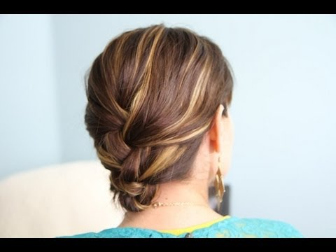 French Braid & Tuck | DIY Hairstyles