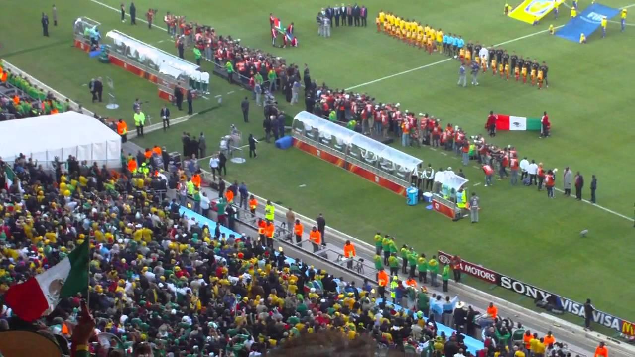 Inauguracion Mundial Sudafrica 2010 (HD) - Himno de México ...
