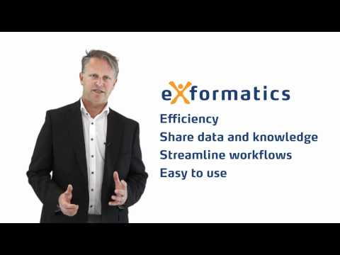 Exformatics offers enthusiasm, efficiency and improved collaboration
