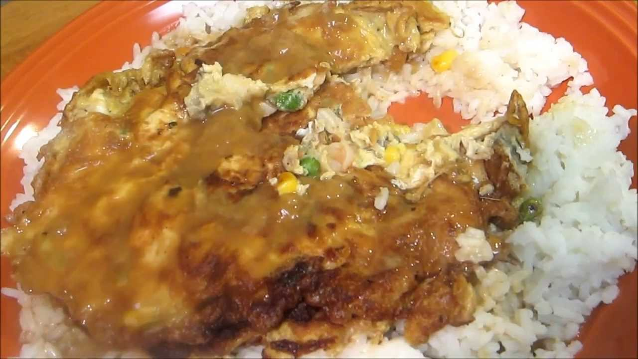 How To Make Egg Foo Young - Shrimp Egg Foo Young - Chinese Recipe ...