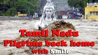 Tamil Nadu Pilgrims back home with smile