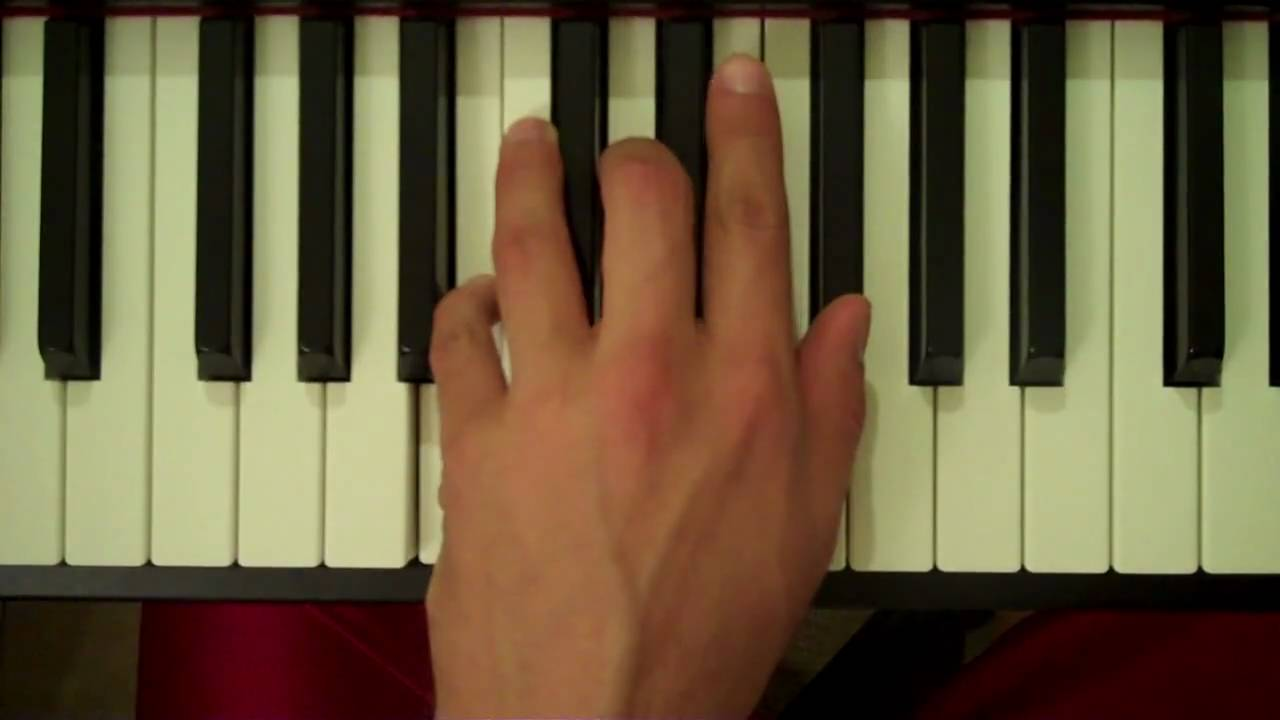 How To Play a B Minor Chord on Piano (Left Hand) - YouTube