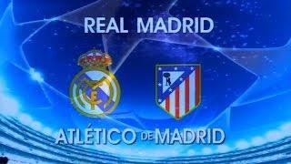 Chamada Globo: Real Madrid X Atlético De Madrid (UEFA