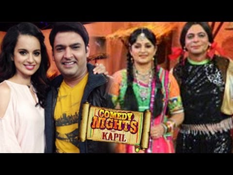 COMEDY NIGHTS WITH KAPIL 6th October 2013 Episode - KANGANA RANAUT SPECIAL