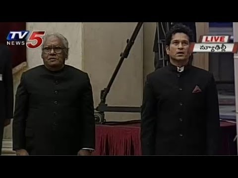 Sachin,CNR Rao Received Bharat Ratna