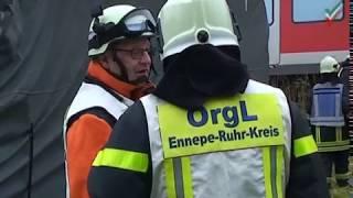 NRWspot.de | Gevelsberg – Oberleitung legt S-Bahn lahm – Feuerwehr im Einsatz
