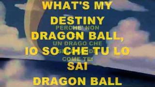 Dragon Ball Z Karaoke By Tongy DJ (sigla Italia 1)