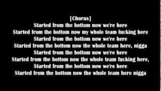 Drake-Started From The Bottom (Explicit) lyrics