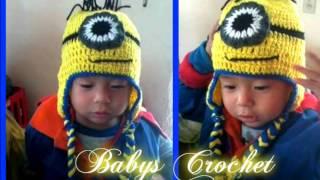 Gorro De Minion A Crochet