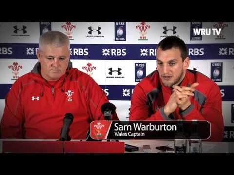 Warren Gatland previews Wales v Scotland 2014 | WRU TV