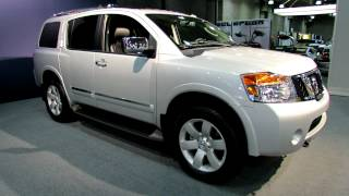 2012 Nissan Armada SL Exterior and Interior at 2012 New York International Auto Show videos