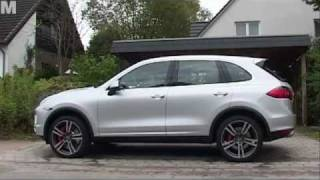 Test: neuer Porsche Cayenne Turbo 2011 videos
