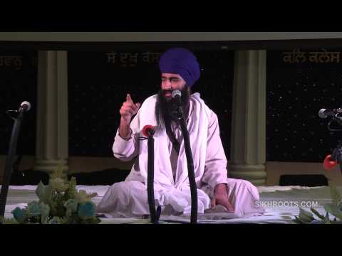 "Bhai Sukha Singh (UK) - ""ਆਸ: Trust in God"" (Day 3 of 3) - Katha in English & Punjabi HD"
